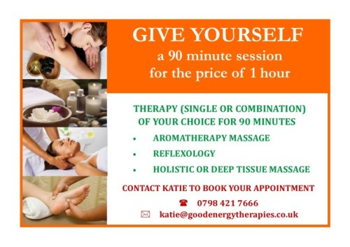 January Reflexology Offer